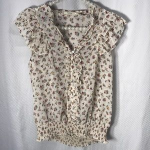 Poetry blouse size large